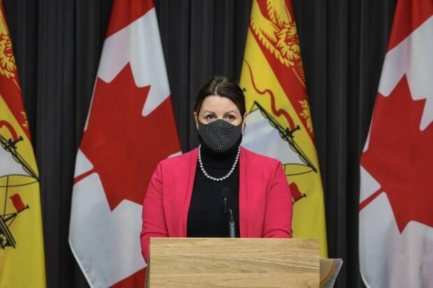 The death of a person age 80 to 89 years old at Manoir Belle Vue is 'a sad reminder that this virus is not done with our province,' Dr. Jennifer Russell said Tuesday.  (File photo submitted by the government of New Brunswick  - image credit)