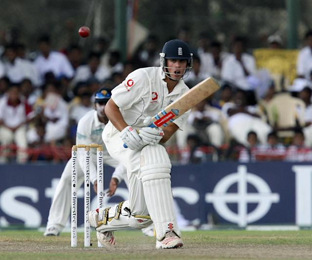 <p>After scoring more runs during the 2007 English summer, Cook's reputation as a fine player of spin was enhanced in Sri Lanka later that year. He scored a century at Galle (Getty Images) </p>