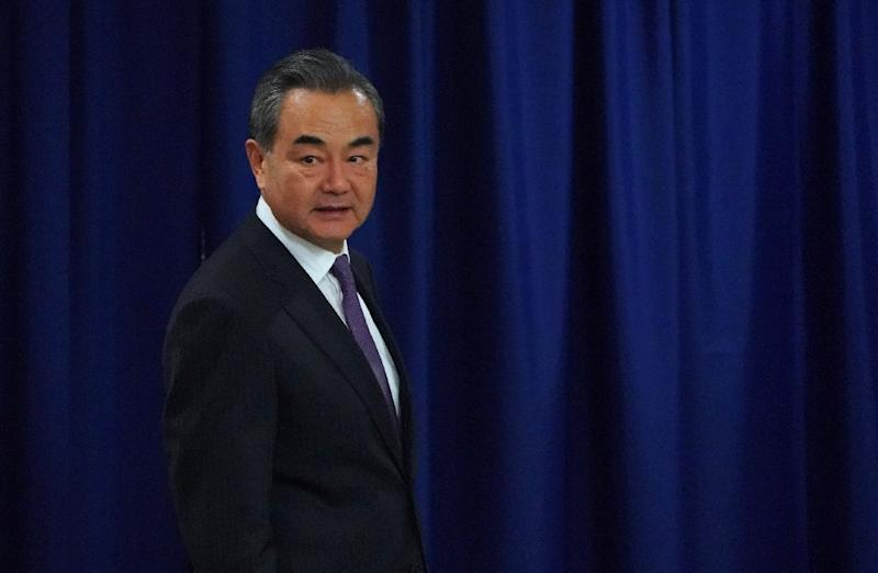 Chinese Foreign Minister Wang Yi flatly denied American claims that China is stealing technology from US and other foreign businesses