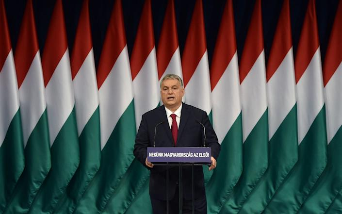 Orban is a fierce critic of Brussels and a proponent of 'illiberal democracy'