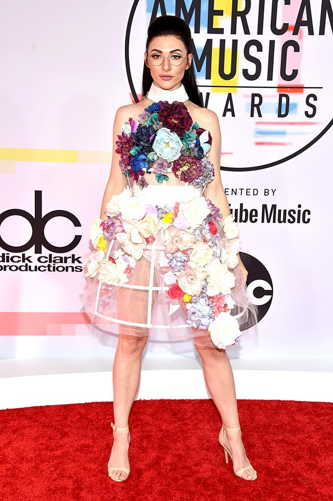<p>Qveen Herby attends the 2018 American Music Awards at Microsoft Theater on Oct. 9, 2018, in Los Angeles. (Photo: John Shearer/Getty Images For dcp) </p>