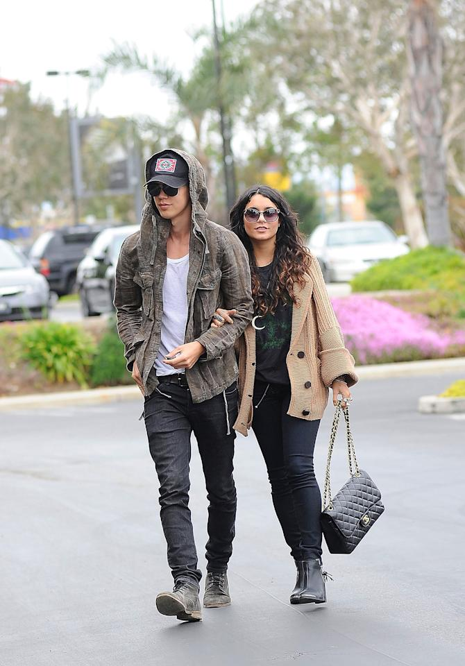 <p>This is after Vanessa's split from Zac in December of 2010. The rumors start flying. </p>