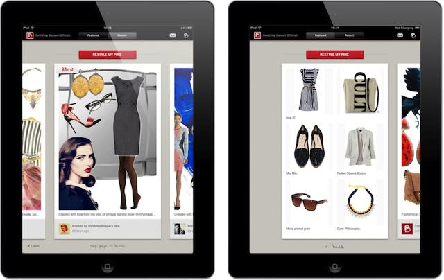 iPad App Turns Your Pinterest Pins Into Interactive Catalog [VIDEO]