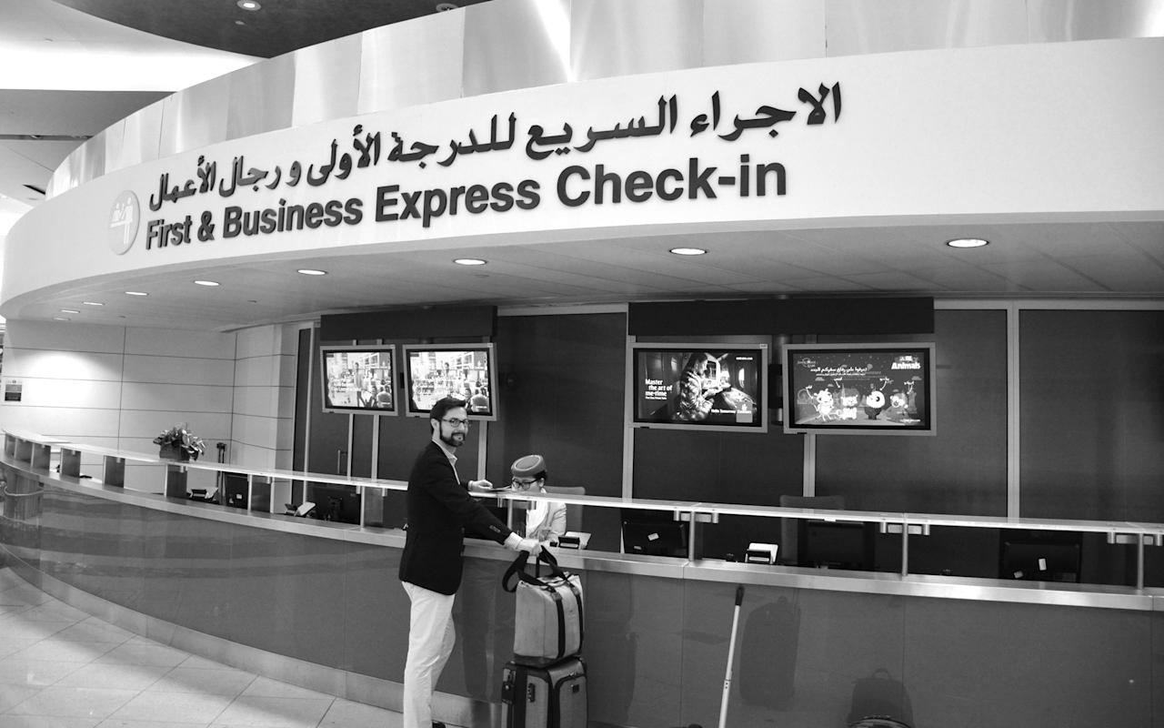 <p>In Dubai Emirates operates a special express check-in desk for first- and business-class passengers; I found it a speedy and pleasant way to get checked in and, because there is a dedicated screening zone around the corner, it also provides an efficient way to get through security.</p>