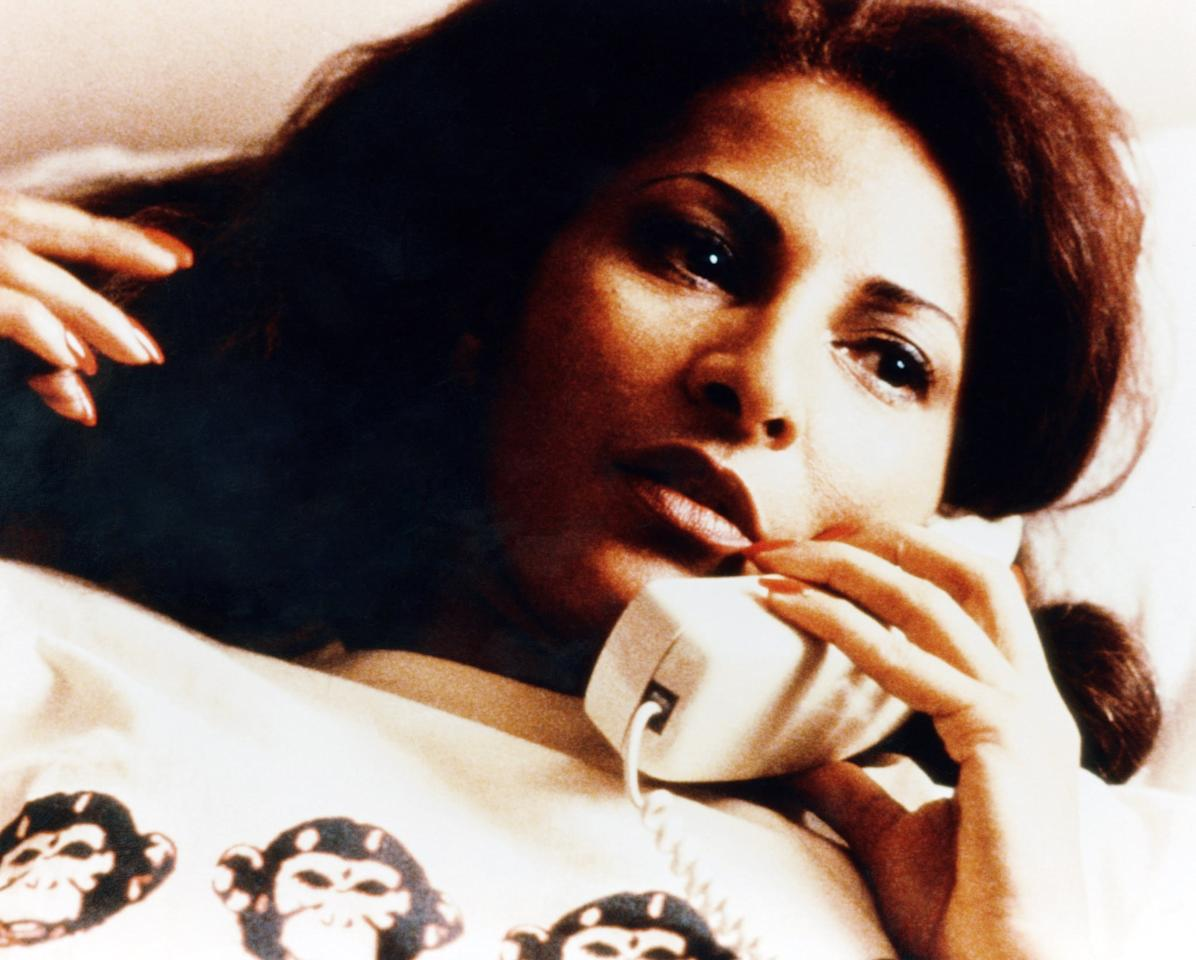 "<p>In this 1997 adaptation of Elmore Leonard's novel <strong>Rum Punch</strong>, the sexy Pam Grier stars as crafty flight attendant Jackie Brown, who, when busted smuggling money for an arms dealer (played by Samuel L. Jackson), is recruited to bring down the big boss - but Jackie has other plans in mind. </p> <p><a href=""http://www.netflix.com/title/60010514"" target=""_blank"" class=""ga-track"" data-ga-category=""Related"" data-ga-label=""http://www.netflix.com/title/60010514"" data-ga-action=""In-Line Links"">Watch <strong>Jackie Brown</strong> on Netflix</a>.</p>"