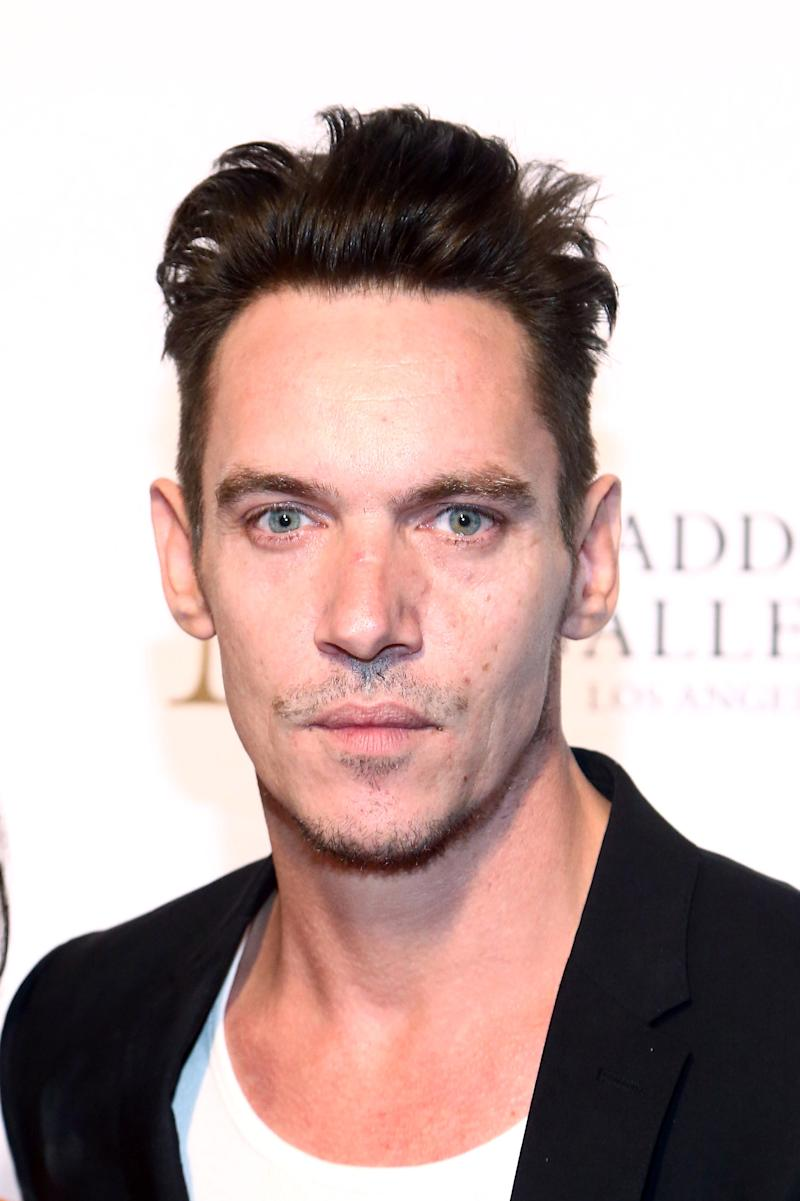 WEST HOLLYWOOD, CA - OCTOBER 11: Jonathan Rhys Meyers attends the Grand Opening Maddox Gallery Los Angeles on October 11, 2018 in West Hollywood, California. (Photo by Tommaso Boddi/Getty Images for Maddox Gallery)