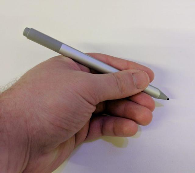 The new Surface Pro's improved stylus.