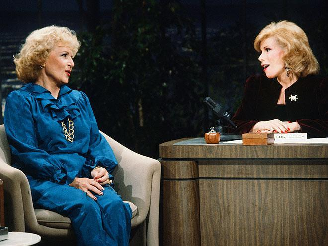 <p>In 1983, she appeared on television with fellow comedic powerhouse Joan Rivers, who was guest hosting for <em>The Tonight Show</em>. The pair would become close friends and eventually appear in <em>Hot in Cleveland </em>together in 2010. </p>
