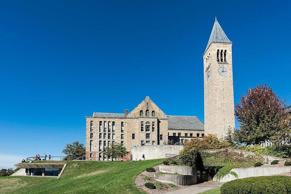 """<p>Ithaca, New York</p><p>Tuition: <a href=""""http://finaid.cornell.edu/cost-attend"""" rel=""""nofollow noopener"""" target=""""_blank"""" data-ylk=""""slk:$52,853"""" class=""""link rapid-noclick-resp"""">$52,853</a></p>"""