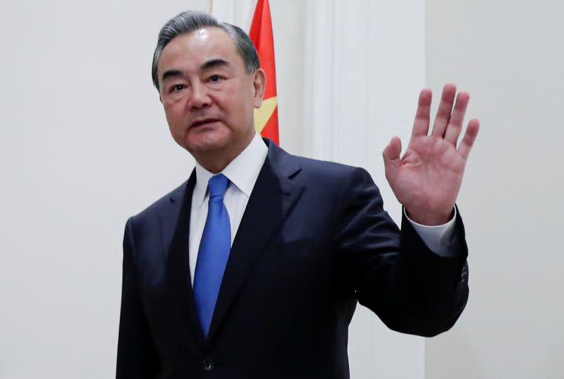 China's Wang Yi tells other countries not to interfere in Chinese internal affairs
