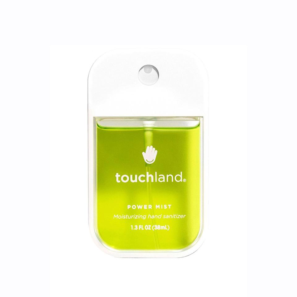 """Touchland's Power Mist makes protection against germs so easy. The 67 percent alcohol-based hand sanitizer uses a smart spray system that evenly distributes product onto your hands so you don't miss any spots, and it comes in eight delightful varieties to suit any taste, including <a href=""""https://www.allure.com/gallery/watermelon-infused-beauty-products?mbid=synd_yahoo_rss"""" rel=""""nofollow noopener"""" target=""""_blank"""" data-ylk=""""slk:watermelon"""" class=""""link rapid-noclick-resp"""">watermelon</a>, citrus, vanilla cinnamon, and aloe vera (pictured above). After racking up waitlist orders in the tens of thousands last year, these are still in hot demand — so stock up fast."""