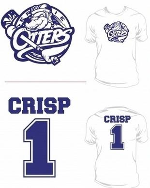 Erie otters selling connor crisp t shirts for charity for Sell t shirts for charity