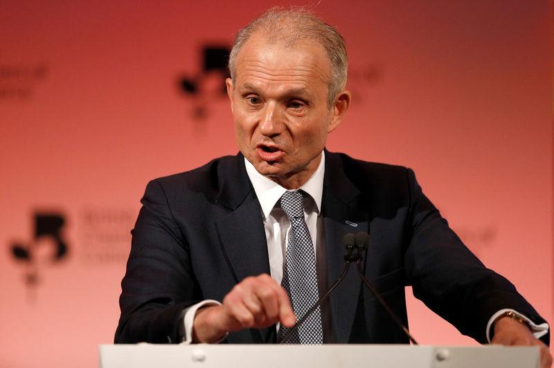 FILE PHOTO: Britain's Minister for the Cabinet Office David Lidington speaks at the the British Chamber of Commerce annual conference in London