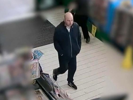 Joseph McCann at a Morrisons in Greater Manchester, where he abducted a 71-year-old woman (PA)