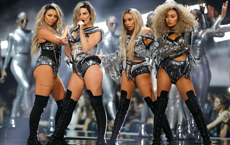 Little Mix (L-R): Jesy Nelson, Perrie Edwards, Jade Thirlwall and Leigh-Anne Pinnock - Getty Images