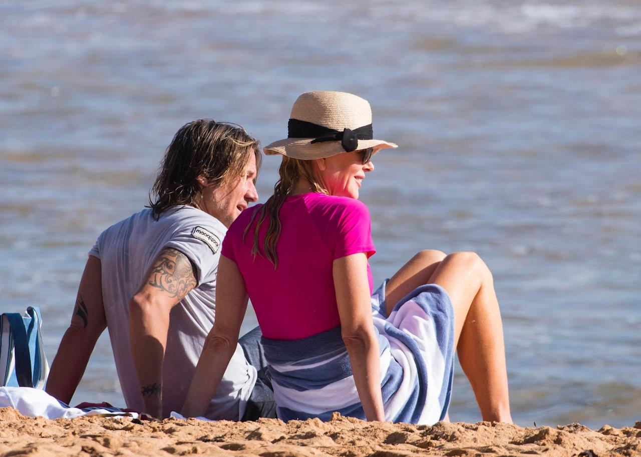 <p>Nicole Kidman and Keith Urban landed Down Under so they could spent Christmas in Oz with their two daughters Sunday, 9, and Faith, 6.</p>