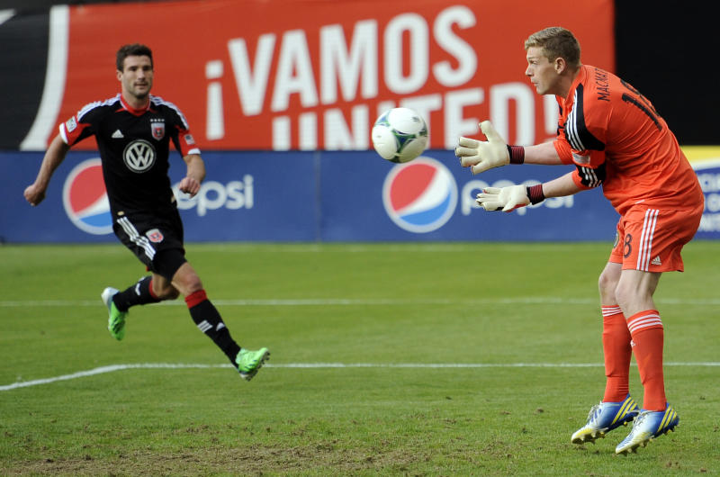 Pontius converts penalty kick to lift DC United