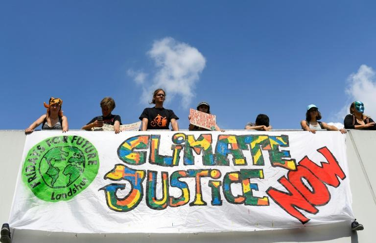 The promise to gradually ramp up aid for the Global South to $100 billion per year by 2020 was first make at the 2009 UN climate summit in Copenhagen (AFP/Ina FASSBENDER)