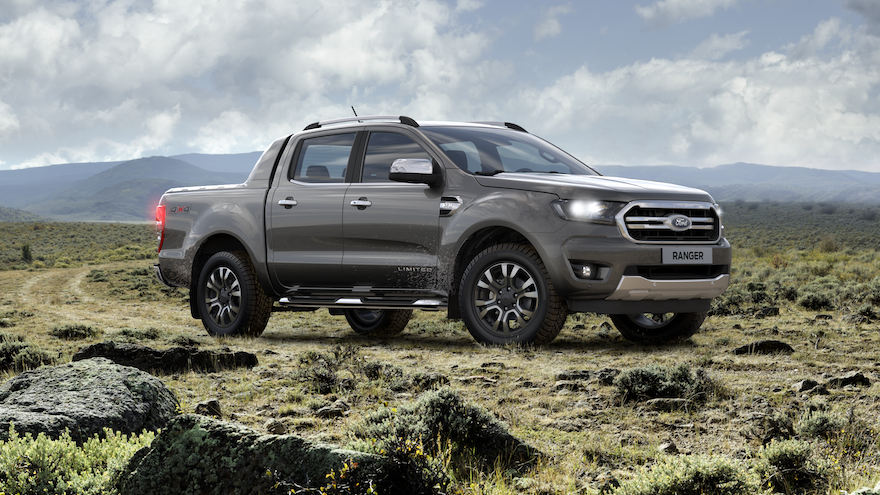 Ford Ranger, la tercera pick up más vendida del 2020.