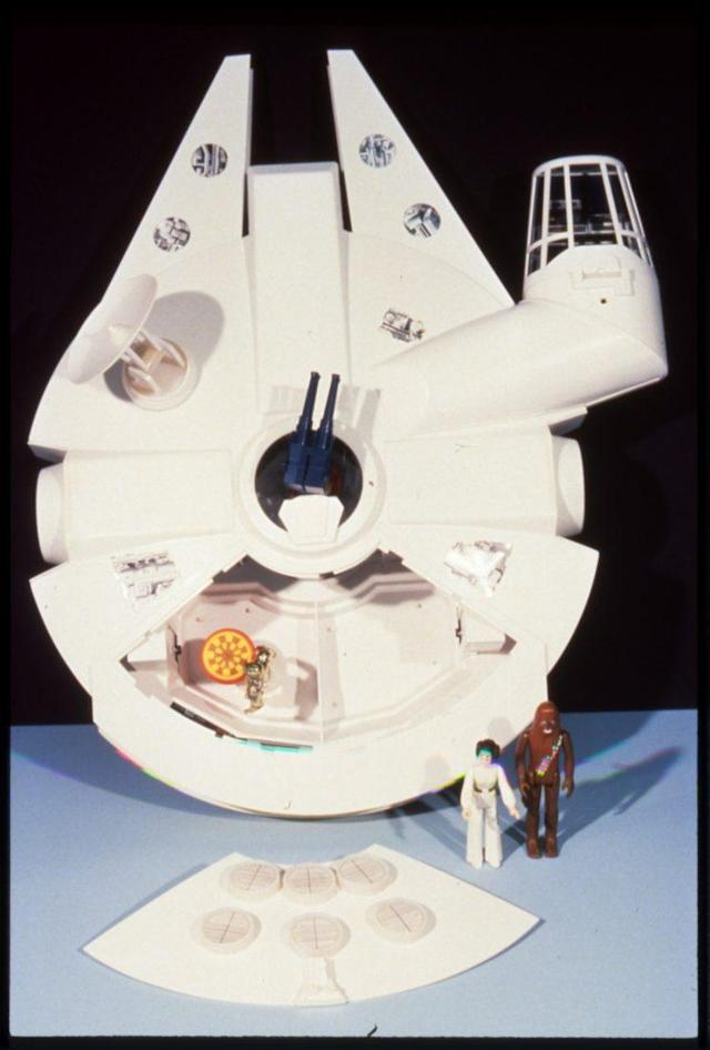 Kenner's Prelim design team made a functional, full-scale plastic model based on Boudreaux's designs to demonstrate the features. (Photo: Mark Boudreaux/Hasbro)