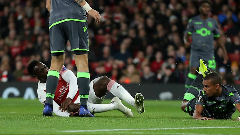 Welbeck hospitalised after 'serious' ankle injury, Emery confirms