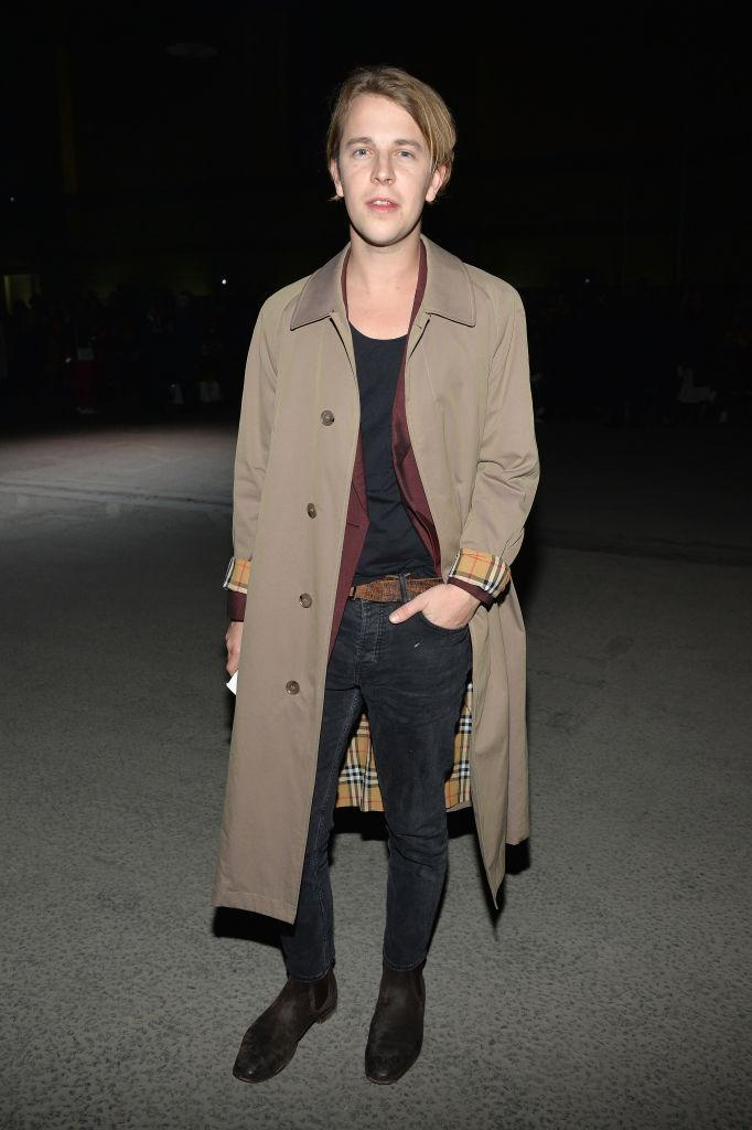 <p>Singer Tom Odell returned to Burberry this season but this time, to sit FROW. <em>[Photo: Getty]</em> </p>