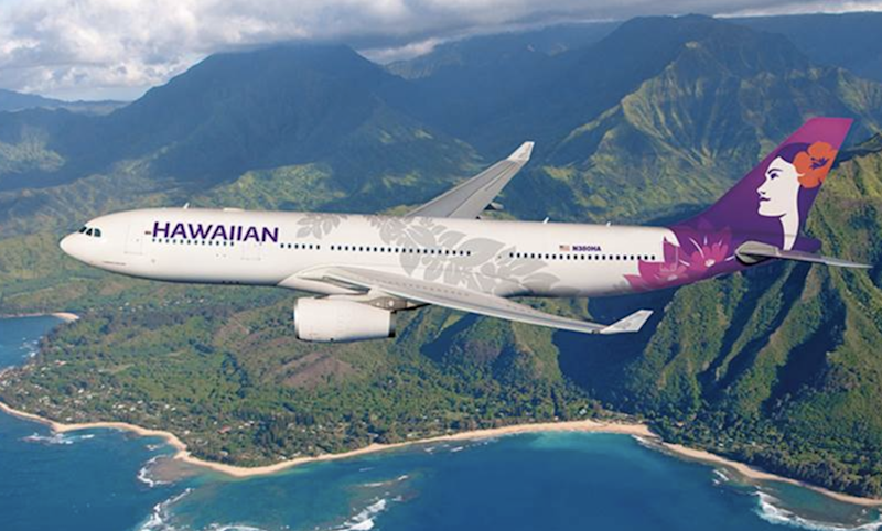 Long reach: the Airbus A330 used for the world's longest domestic flight: Hawaiian Airlines