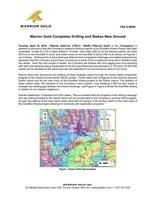 Warrior Gold Completes Drilling and Stakes New Ground (CNW Group/Warrior Gold Inc.)