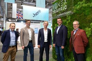 Building on the success of data-based traffic management solutions in the UK, Yunex Traffic is expanding its partnership with HERE to improve urban mobility flows globally