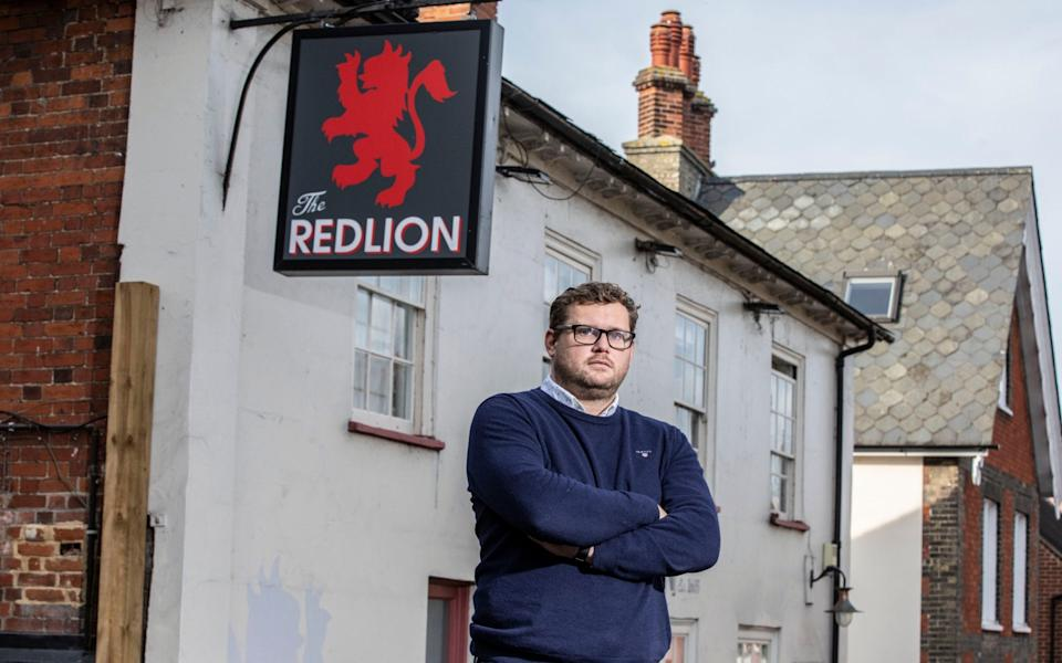 Tom West runs pubs in Tier 1 and Tier 2 areas and is 'frustrated' by the myriad of rules and regulations - Jeff Gilbert
