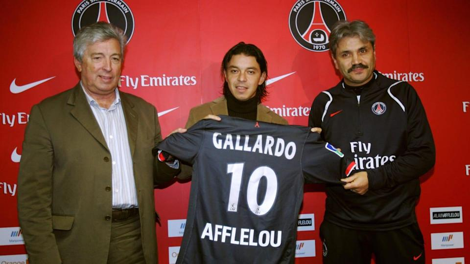 The new Paris' Argentinian midfielder Ma | JACK GUEZ/Getty Images