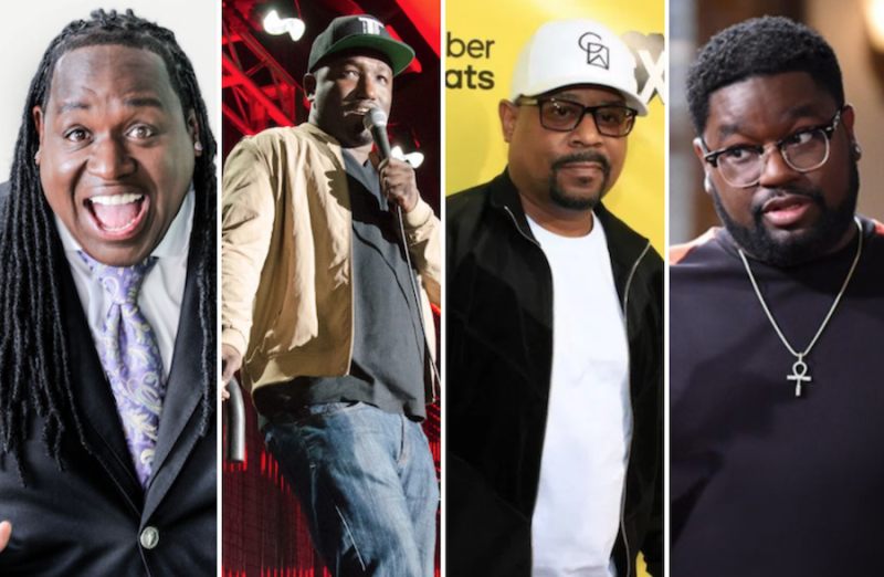 """Martin Lawrence to host """"The Lit AF Tour"""" with Hannibal Buress, Bruce Bruce, Lil Rel"""
