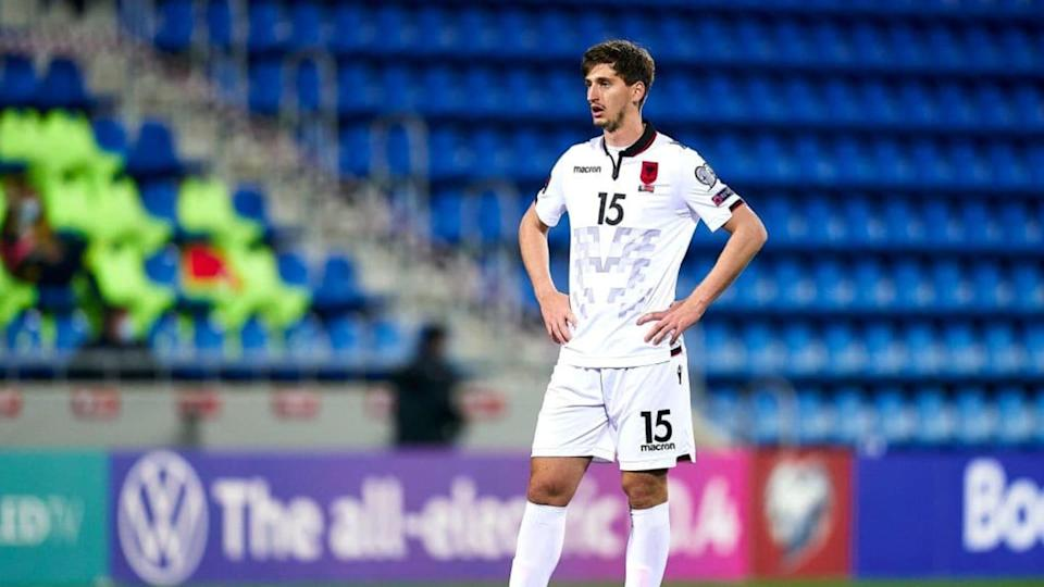 Kumbulla con l'Albania contro Andorra   Quality Sport Images/Getty Images
