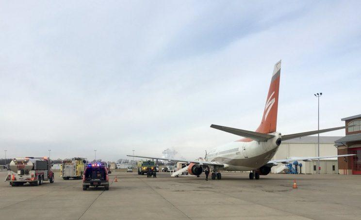 Dallas Stars plane photo tweeted by Brittany Ludwig of KSDK News.