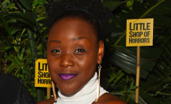 Seyi Omooba was dropped from her agency and the lead role in the Color Purple after the post was tweeted by Aaron Lee Lambert. (Getty)