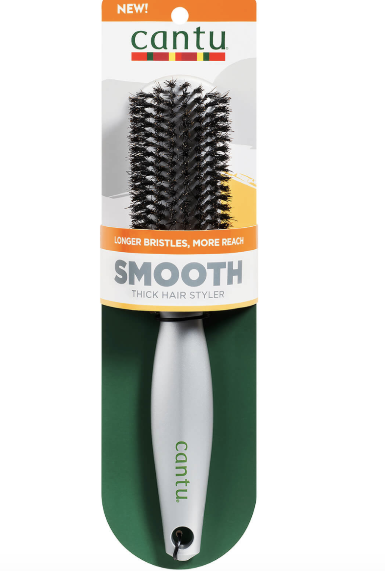 Cantu thick boar paddle brush for long hair, S$16. PHOTO: Lookfantastic