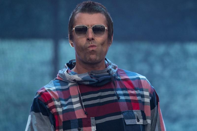 Liam Gallagher performs at the Glastonbury Festival in Somerset on 29 June, 2019: OLI SCARFF/AFP/Getty Images