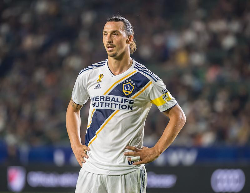 Will Zlatan Ibrahimovic return to the LA Galaxy next year? (Shaun Clark/Getty)