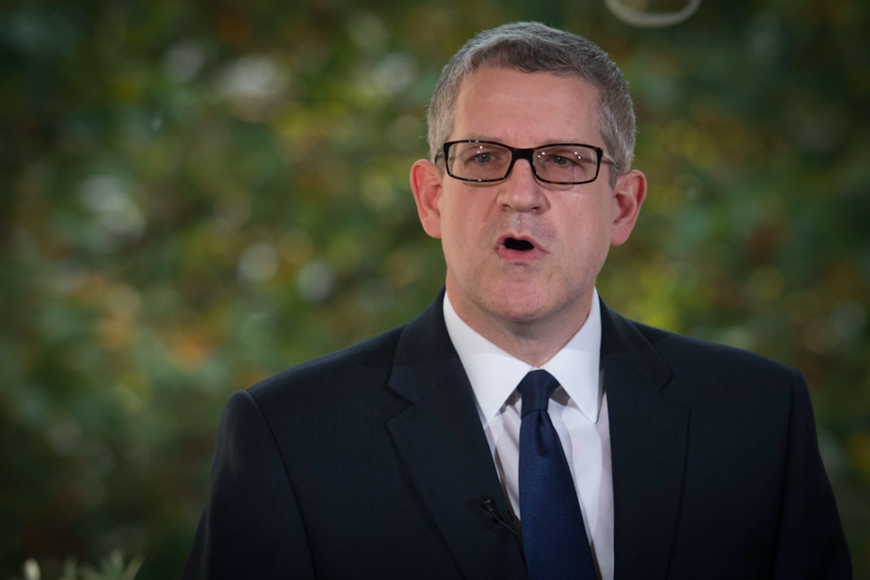 <em>Andrew Parker will say he is confident about tackling terrorism (PA)</em>