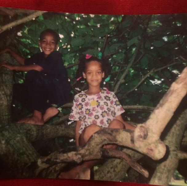 """<p>Singer Rihanna, sending love to her brother: """"Happy Birthday @gallest !!!! I couldn't have imagined that I could love you as much as I do!!! You're so important to me! I want you to always remember that! Happy Birthday to my first hitta, ever and forever!!! #MyBrother"""" -<a href=""""http://instagram.com/p/vWW9_KhMz-/?modal=true"""" rel=""""nofollow noopener"""" target=""""_blank"""" data-ylk=""""slk:@badgalriri"""" class=""""link rapid-noclick-resp"""">@badgalriri</a> (Instagram) <br></p>"""