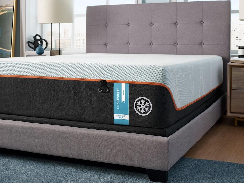 """<p><strong>Tempur-Pedic</strong></p><p>tempurpedic.com</p><p><strong>$4499.00</strong></p><p><a href=""""https://go.redirectingat.com?id=74968X1596630&url=https%3A%2F%2Fwww.tempurpedic.com%2Fshop-mattresses%2Ftempur-breeze%2Fv%2F3058&sref=https%3A%2F%2Fwww.goodhousekeeping.com%2Fhome-products%2Fg36878757%2Fbest-soft-mattresses%2F"""" rel=""""nofollow noopener"""" target=""""_blank"""" data-ylk=""""slk:Shop Now"""" class=""""link rapid-noclick-resp"""">Shop Now</a></p><p>For a mattress that's soft and has cooling benefits, try the Tempur Soft LuxBreeze mattress. Not only is this <strong>mattress the softest of the Tempur-Breeze line with a 13-inch height, but it also has innovative cooling technology</strong>. Instead of just feeling cool to the touch, this mattress uses unique phase change technology that helps keep you cooler when you fall asleep and throughout the night. </p><p>According to Tempur-Pedic, this mattress keeps you feeling up to eight degrees cooler, and our testers stated the cooling factor is noticeable. Testers also say it has held up well over time, and one said the motion control works well. Another bonus: The cover is removable and machine washable. </p><p>• <strong>Height:</strong> 13 inches<br>• <strong>Firmness levels:</strong> Soft, Firm<br>• <strong>Sizes: </strong>Twin Long, Double, Queen, King, Split King, California King, Split California King<br>• <strong>Trial Period:</strong> 90 nights</p>"""
