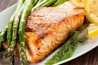 "<p>There's no reason that you shouldn't microwave fish beyond the fact that it'll make your coworkers upset. It's an <a href=""https://www.theactivetimes.com/home/office-etiquette-mistakes?referrer=yahoo&category=beauty_food&include_utm=1&utm_medium=referral&utm_source=yahoo&utm_campaign=feed"" rel=""nofollow noopener"" target=""_blank"" data-ylk=""slk:office etiquette mistake you should avoid"" class=""link rapid-noclick-resp"">office etiquette mistake you should avoid</a>, and if your office is your home, you should spare your roommates the smell too.</p>"