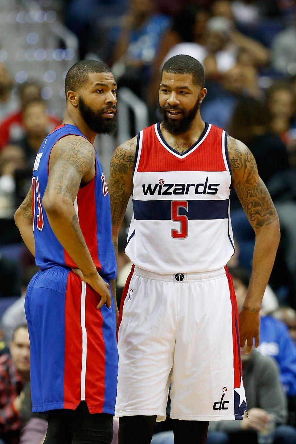 <p>Markieff and Marcus don't only share looks, they also share skills. Both are professional NBA basketball players in Los Angeles—Markieff for the Lakers and Marcus for the Clippers.</p>