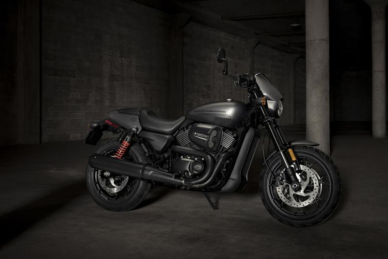 The new Harley-Davidson Street Rod 750
