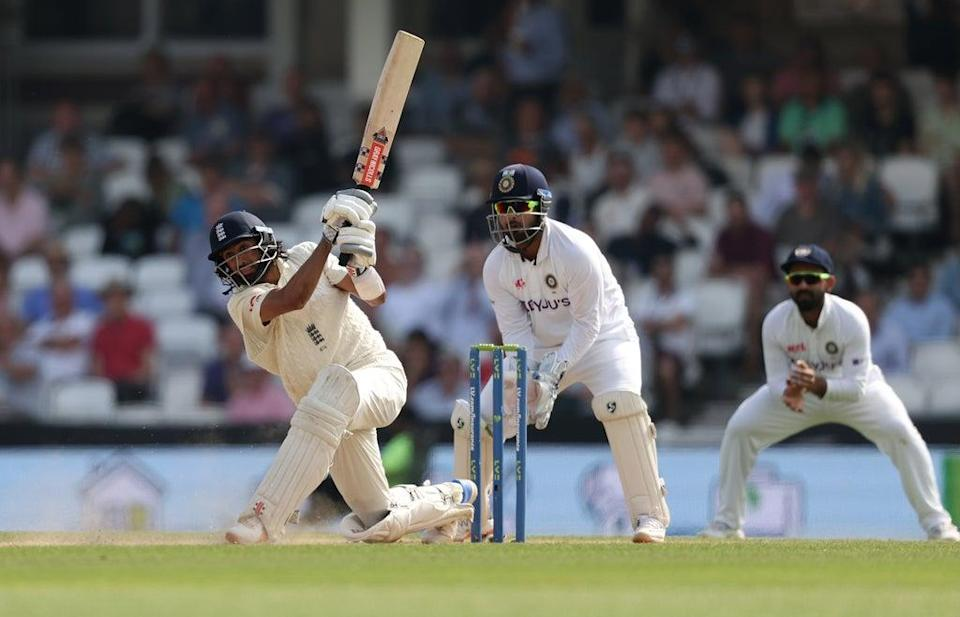 Hameed in action for England during the fourth Test against India (Getty)