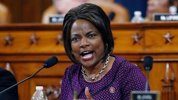 PHOTO: Rep. Val Demings gives her opening statement during a House Judiciary Committee markup of the articles of impeachment against President Donald Trump on Capitol Hill in Washington. (Patrick Semansky/AP, FILE)