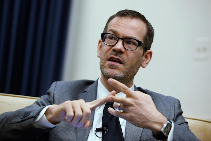 Colin Kahl, then-U.S. deputy assistant defense secretary for the Middle East, participates in a panel discussion about Iran's nuclear program on Feb. 21, 2012. (Photo: Chip Somodevilla/Getty Images)