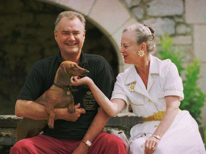 Prince Henrik, pictured here with Queen Margrethe in 1996, was disappointed he never became 'king'. Photo: Getty