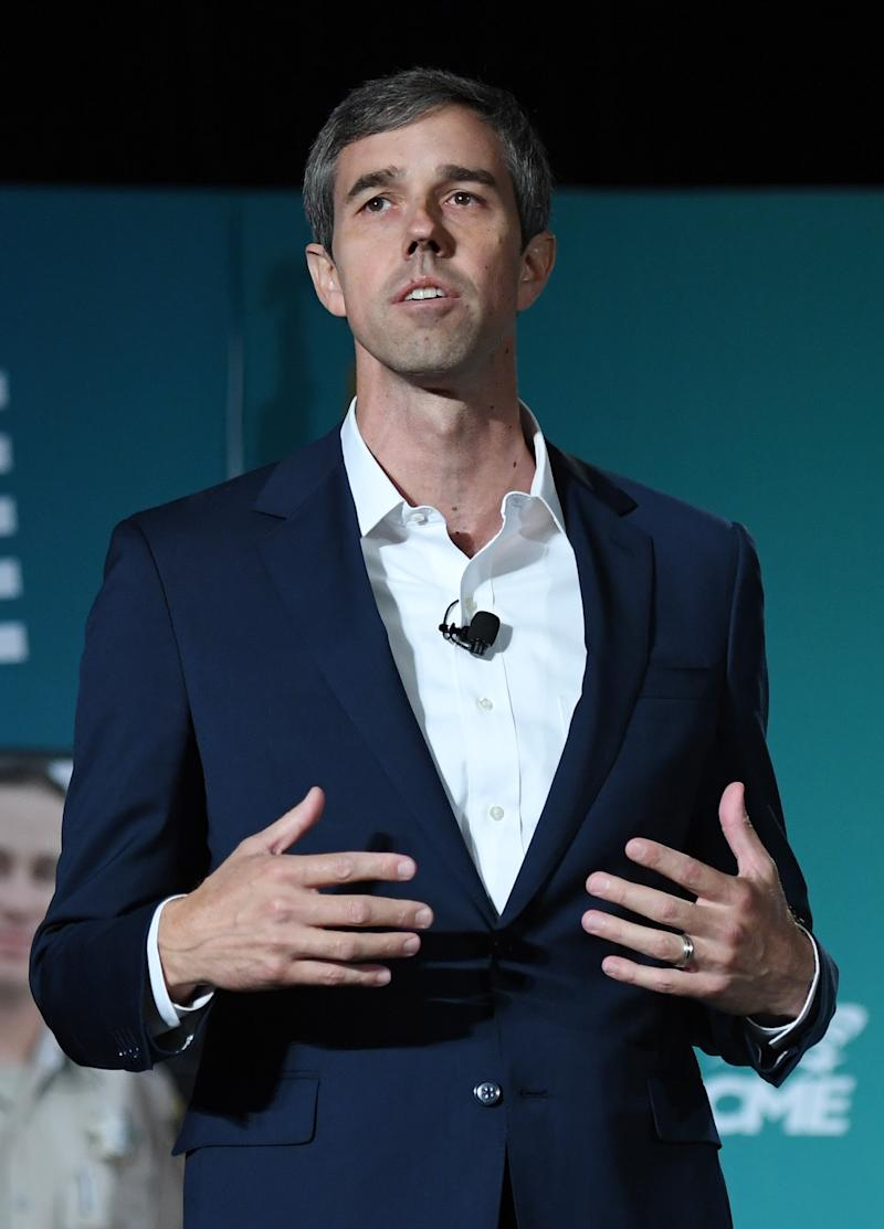 "U.S. presidential candidate Beto O'Rourke said he was ""devastated"" by the mass shooting at a Walmart in El Paso, Texas. (Photo: Getty Images)"