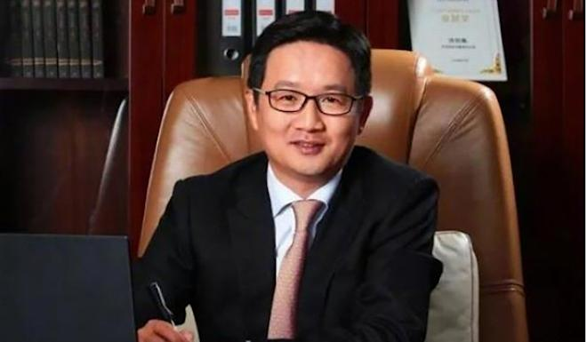 Leng Peidong, the Shanghai chief of Ping An Bank, is under investigation by the corruption watchdog. Photo: Weibo